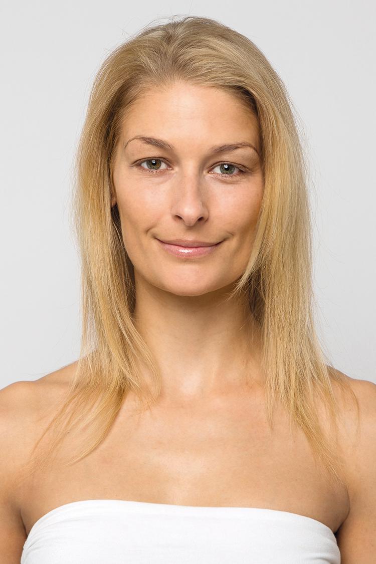 Hairtalk Extensions - vorher
